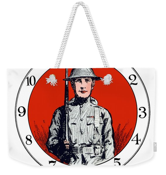Us Army First Division - Ww1 Weekender Tote Bag