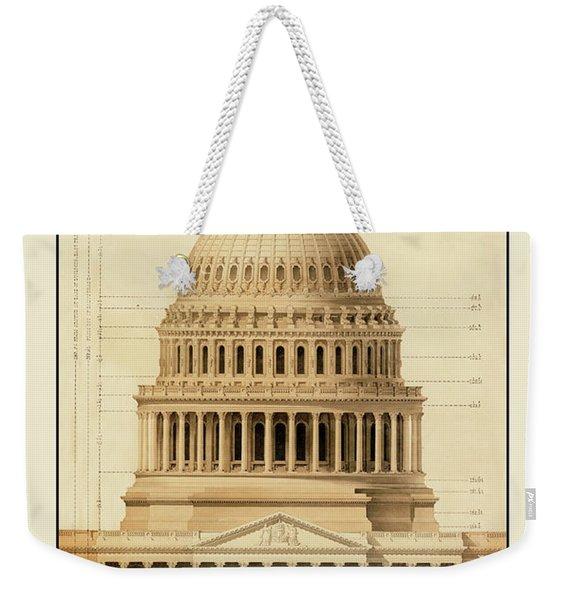 U.s. Capitol Building 1 Weekender Tote Bag