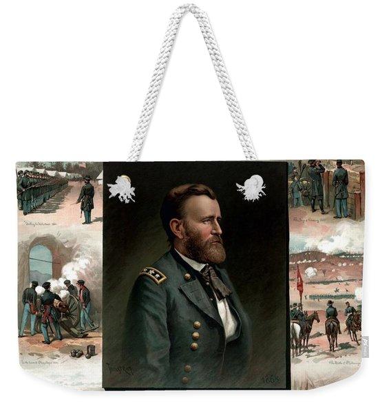 Us Grant's Career In Pictures Weekender Tote Bag