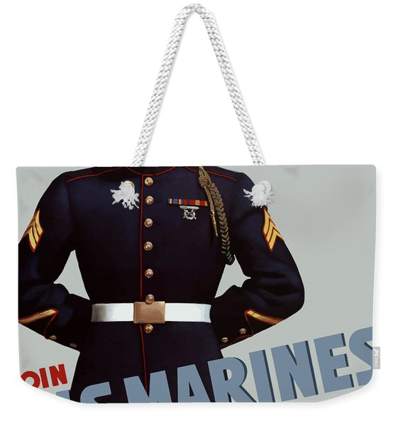 Us Marines - Ready Weekender Tote Bag