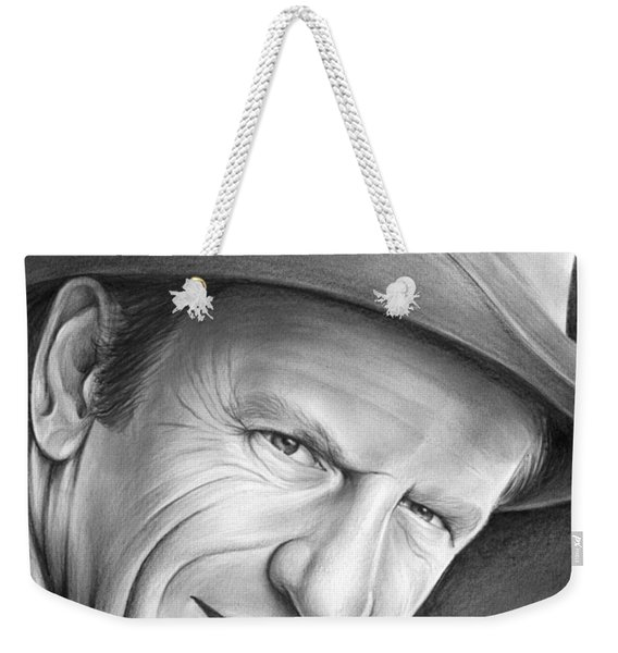 Gunsmoke's Matt Dillon Weekender Tote Bag