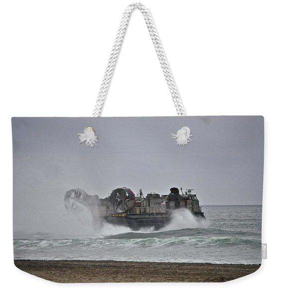 Us Navy Hovercraft Weekender Tote Bag