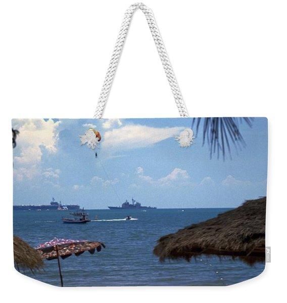 Us Navy Off Pattaya Weekender Tote Bag