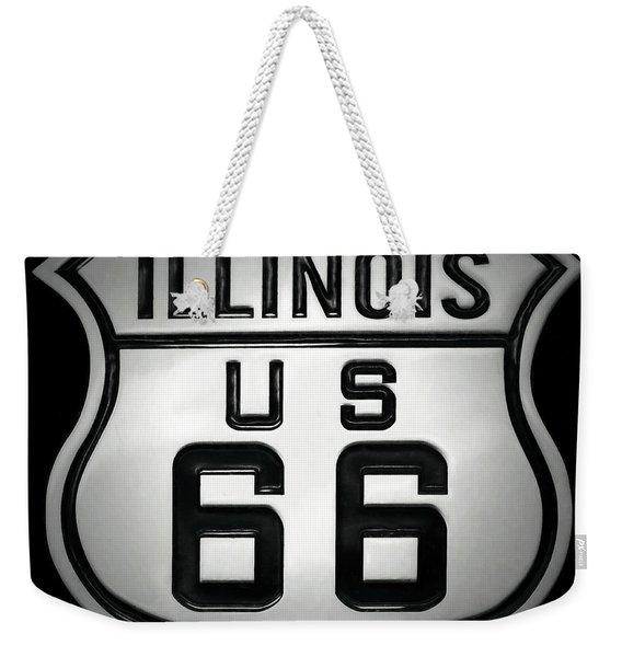 U.s. Route 66 Weekender Tote Bag