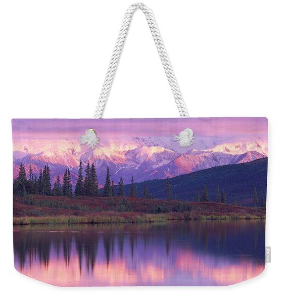 Usa, Alaska, Denali National Park Weekender Tote Bag