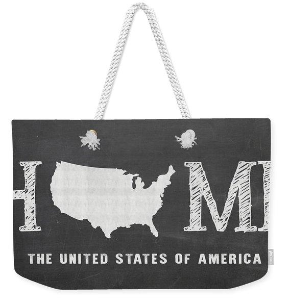 Usa Home Weekender Tote Bag