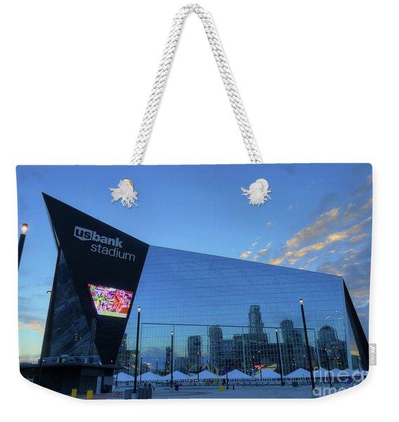 Usbank Stadium Morning Weekender Tote Bag