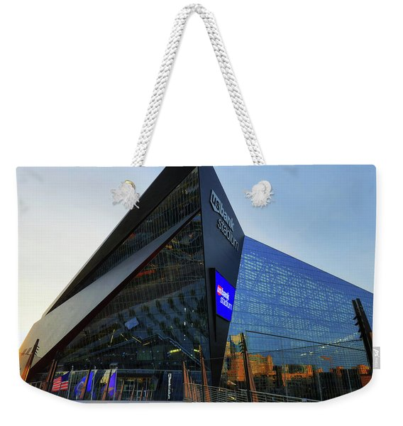 Usbank Stadium The Approach Weekender Tote Bag