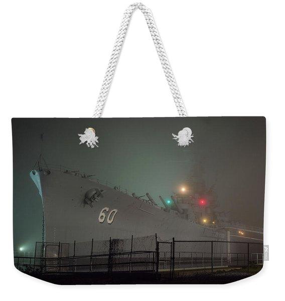 Uss Alabama Weekender Tote Bag