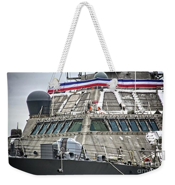 Uss Little Rock Lcs 9 Weekender Tote Bag