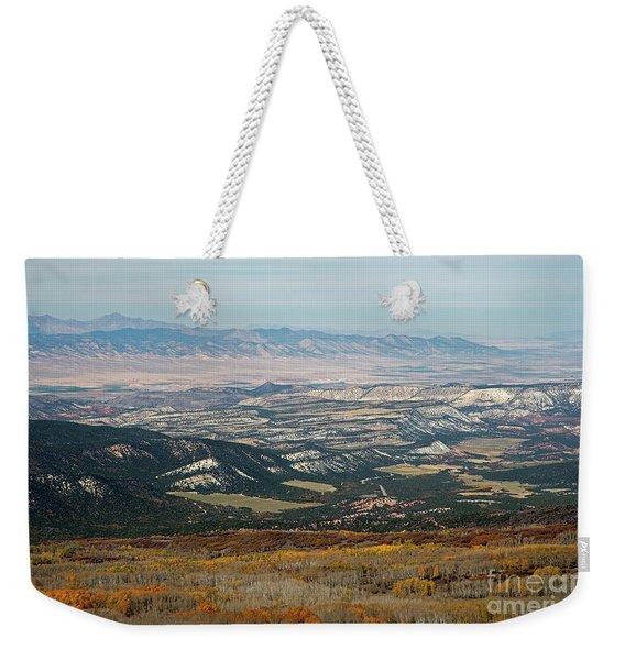 Utah A Patchwork Weekender Tote Bag