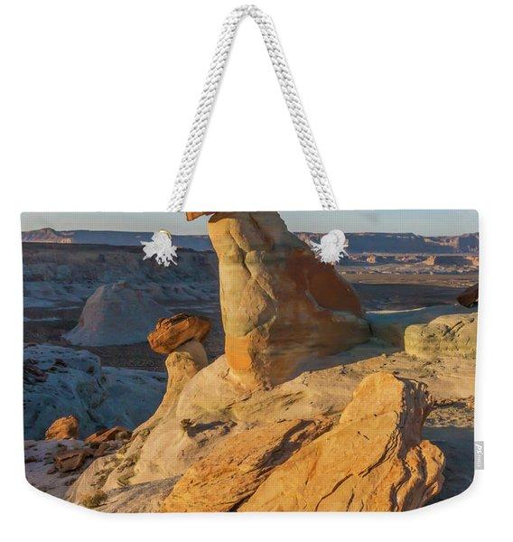 Utah Hoodoos At Sunset Weekender Tote Bag