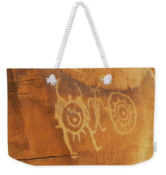 Utah Rock Art II Weekender Tote Bag