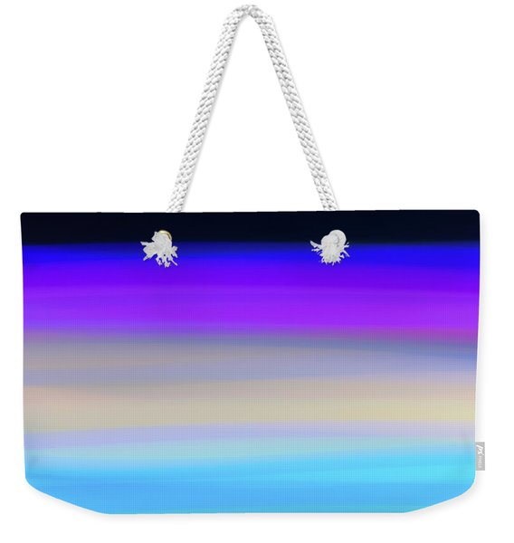Uv Dawn Weekender Tote Bag