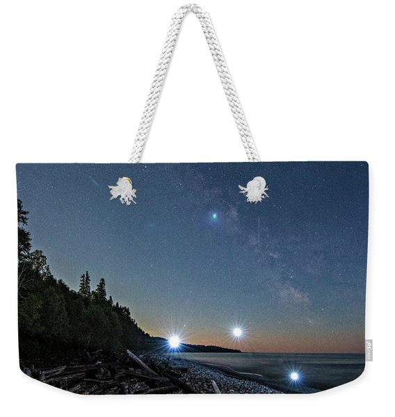 Weekender Tote Bag featuring the photograph UV by Doug Gibbons