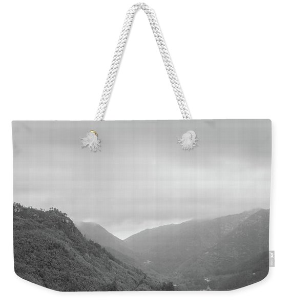 V For Vientoooooo Or Just The V On The Mountain Weekender Tote Bag