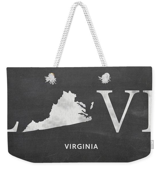 Va Love Weekender Tote Bag