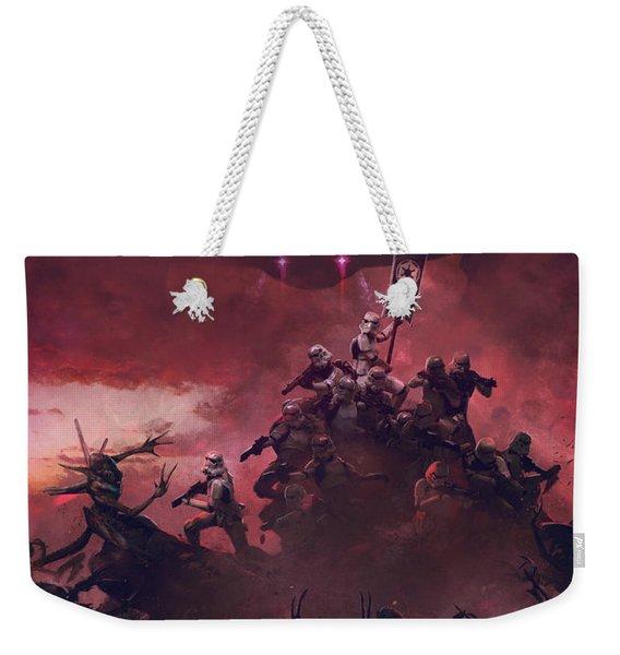 Vader Vs Aliens 2 Weekender Tote Bag