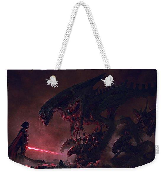 Vader Vs Aliens 4 Weekender Tote Bag
