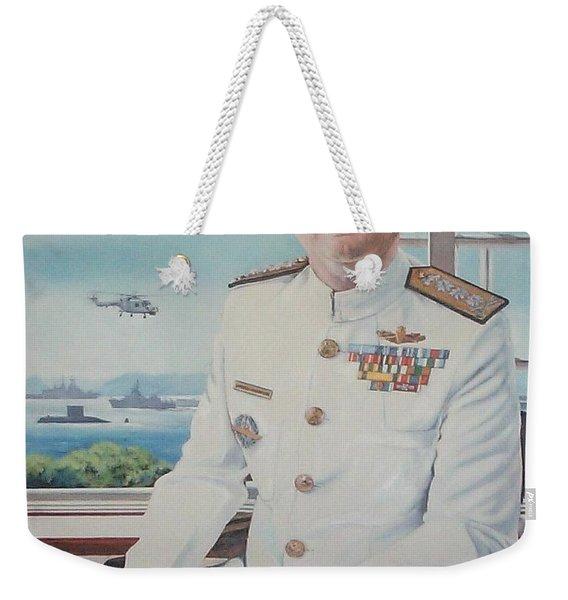 Vadm Robert Claude Simpson-anderson Weekender Tote Bag