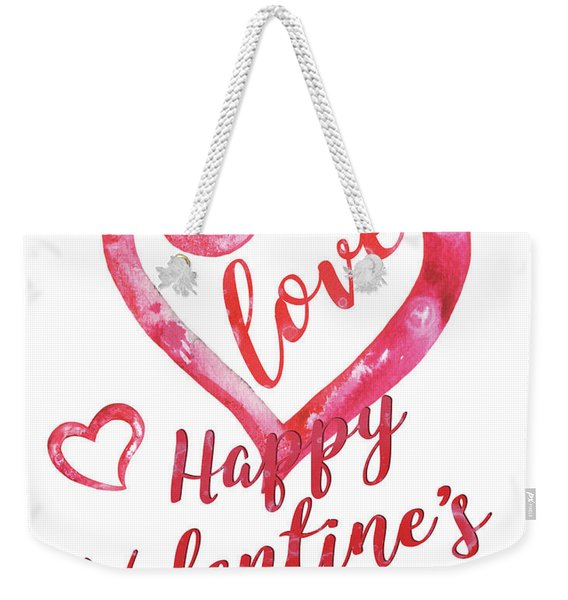 Valentine Weekender Tote Bag