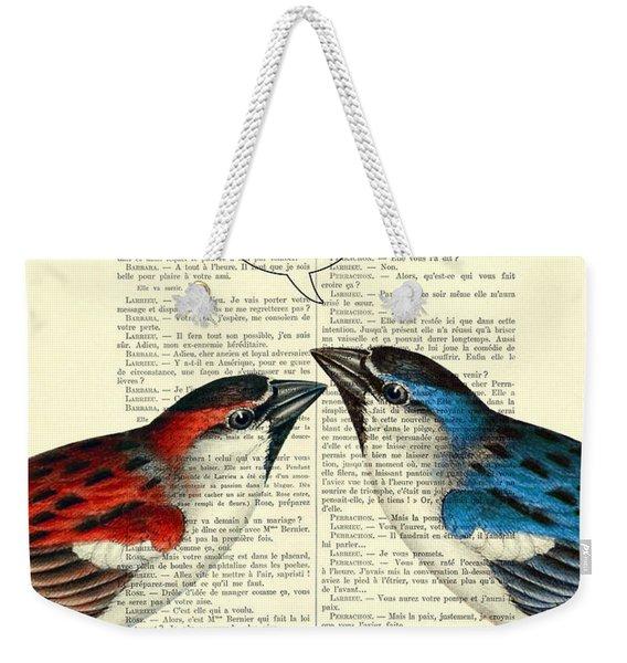 Valentine's Day Weekender Tote Bag