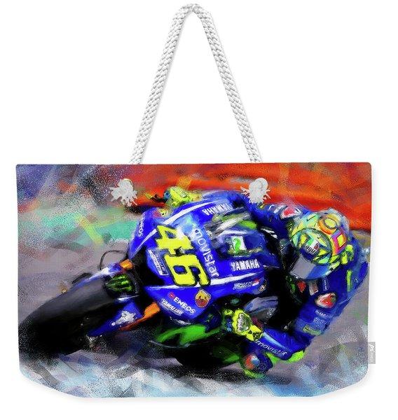 Valentino Rossi - 02 Weekender Tote Bag