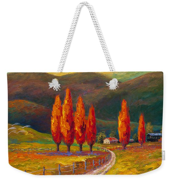 Valley Farm Weekender Tote Bag