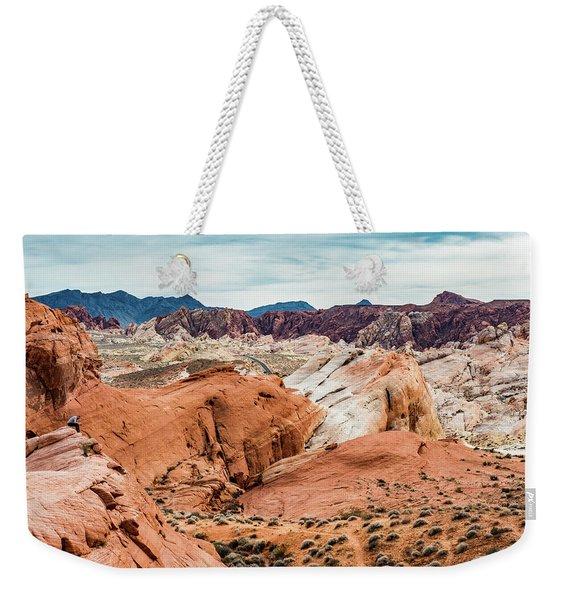Valley Of Fire  Weekender Tote Bag