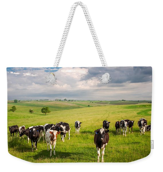 Valley Of The Cows Weekender Tote Bag