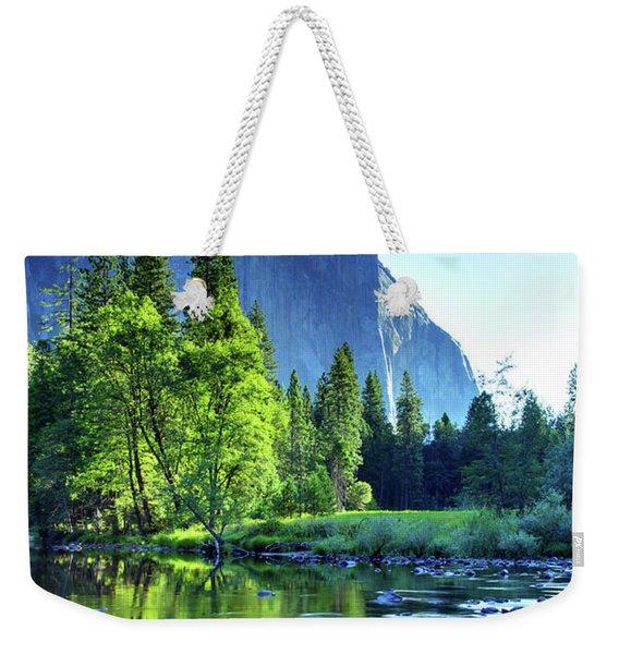 Valley View Morning Weekender Tote Bag