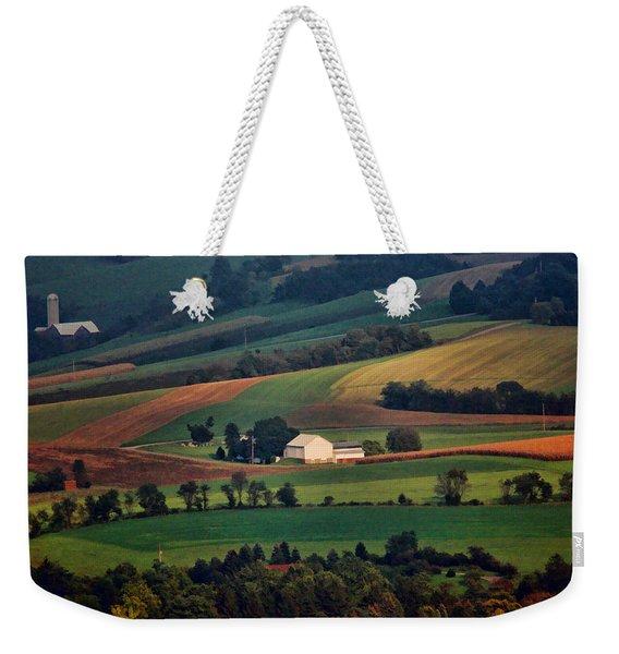 Valley Weekender Tote Bag
