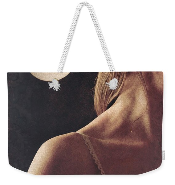Weekender Tote Bag featuring the photograph Vampire by Clayton Bastiani