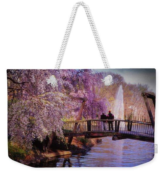 Van Gogh Bridge - Reston, Virginia Weekender Tote Bag
