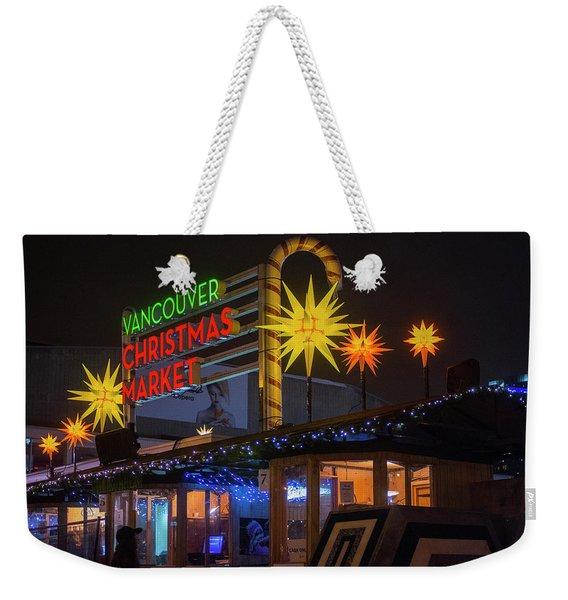 Vancouver Christmas Market  Weekender Tote Bag