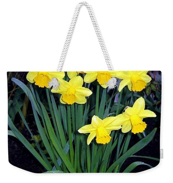 Vancouver Daffodils Weekender Tote Bag
