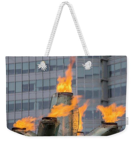 Vancouver Olympic Cauldron 2 Weekender Tote Bag