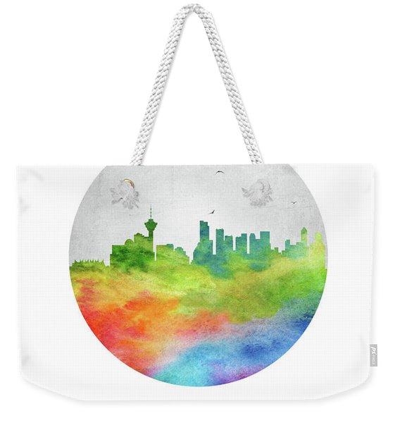 Vancouver Skyline Cabcva20 Weekender Tote Bag