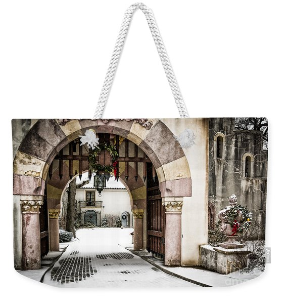 Vanderbilt Holiday Weekender Tote Bag