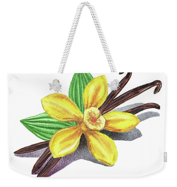 Vanilla Sticks And Flower Weekender Tote Bag