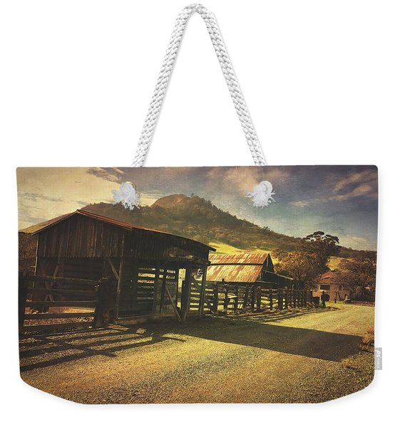Vanishing History Weekender Tote Bag
