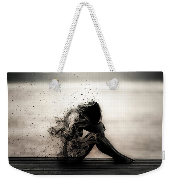 Vapours Of Sadness Weekender Tote Bag