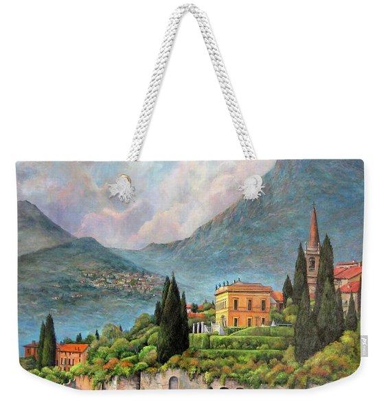 Varenna Italy Weekender Tote Bag