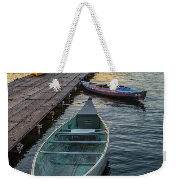 Variation On A Theme At Lava Lake Weekender Tote Bag