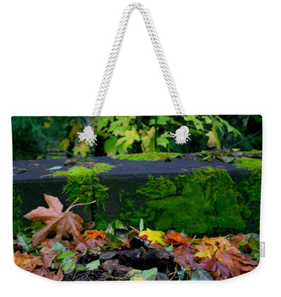 Varigated Fall Weekender Tote Bag