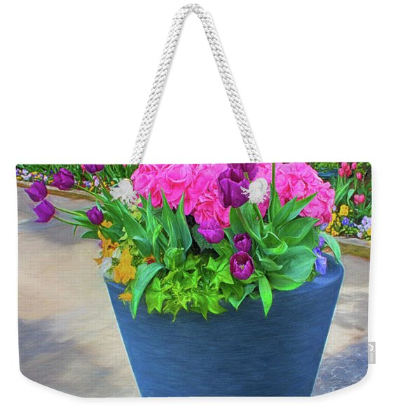 Vase And Flowers Series 05 Weekender Tote Bag