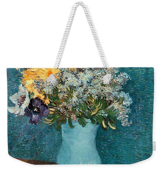 Vase Of Flowers Weekender Tote Bag