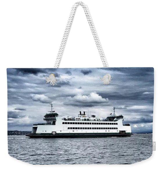 Vashon Island Ferry Weekender Tote Bag