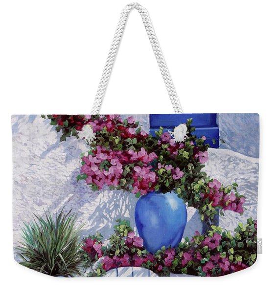 Vasi Blu Weekender Tote Bag