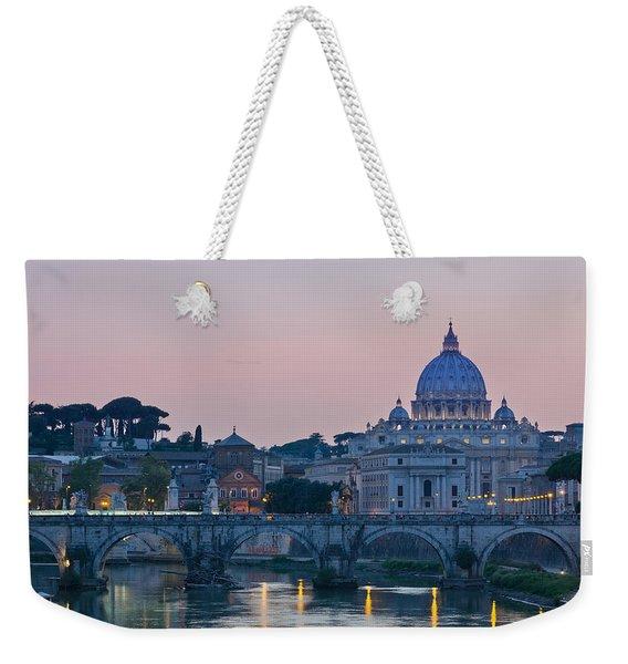 Vatican City At Sunset Weekender Tote Bag
